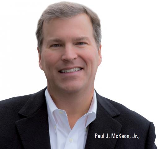 CEO, Paul McKeon