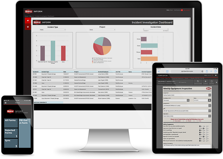 Construction Project Management Dashboard