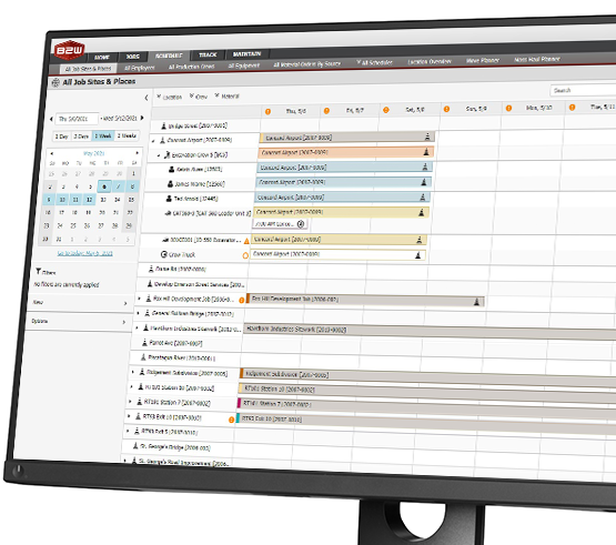 Flexible, easy-to-use construction scheduling software